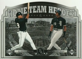 1997 Upper Deck Home Team Heroes #HT10 Albert Belle/Frank Thomas - $0.99