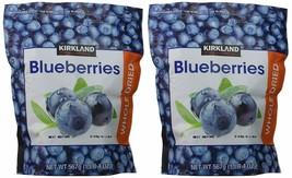 2 PACK KIRKLAND SIGNATURE WHOLE DRIED BLUEBERRIES, 20 OZ - $34.65