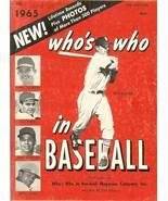 1965 who's who in baseball magazine ken boyer dean chance - $9.99