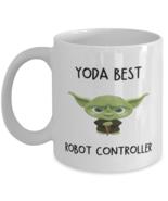 Robot Controlling Mug Yoda Best Robot Controller Gift for Men Women Coff... - £10.84 GBP