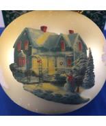 Ornament Thomas Kinkade Blessing of Christmas Brushworks Collection Box ... - £10.49 GBP