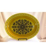 "Homer Laughlin Coventry Castilian Oval Platter 13 7/8"" Granda Line - $9.44"