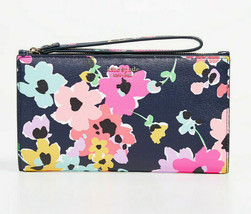 Kate Spade sylvia wildflower bouquet large continental wristlet Phone Wa... - $94.05