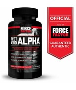 FORCE FACTOR  TEST X180 ALPHA Preferred Free Testosterone Booster 120 Ca... - $55.00