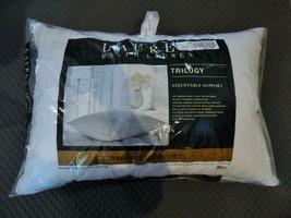 $120.00 Lauren Ralph Lauren Trilogy Cotton Dobby Standard  Feather Pillow - $34.90