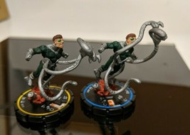 Lot of of 2 Heroclix Doctor Octopus #070 and #071 Experienced Ultimates Wizkids - $9.89