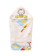 Honey Monkey Pattern Summer Thin Section Cotton Baby Swaddle Blankets