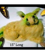 Lemon the Felted Cat Sculpture - $65.00