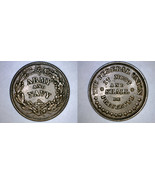 1863 Civil War Token Army and Navy The Federal Union Must and Shall Be P... - $44.99