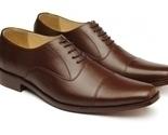 O men handmade leather shoes brown dress shoes men s 4f0c thumb155 crop