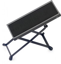 Stagg FOS-A1 BK Black Metal Adjustable Foot Rest for Guitar Players - NE... - $10.59
