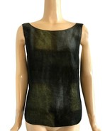 Marella By Max Mara Green Black Gray Ombre Top 10 - $42.00