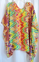Poncho Scarf  Scarves Bright Yellow Red Blue Green - $7.99