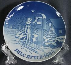 Bing & Grondahl Annual 1984 The Christmas Letter Collector Plate Denmark - $24.95