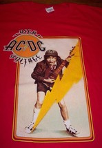 Vintage Style Acdc High Voltage Angus Young T-Shirt Medium New - $19.80