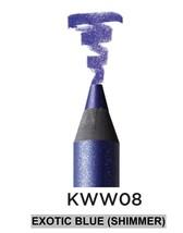 KISS NEW YORK PROFESSIONAL WATERPROOF WONDERS EYELINER 'EXOTIC BLUE (SHI... - $7.99