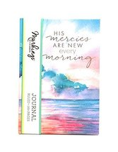 Markings By Crgibson Medium Journal/Ruled 160 Pages (HIS MERCIES ARE NEW... - $13.45