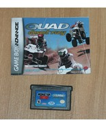 Monster Trucks Quad Desert Fury Nintendo Game Boy Advance GBA Tested W/ ... - $9.40