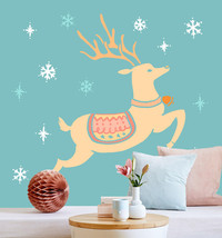 3D Christmas Lively reindeer 45 WallPaper Murals Wall Print Decal AJ WAL... - $32.15+