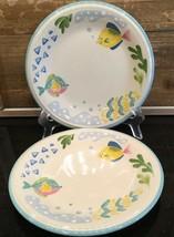 "Studio Nova Barrier Reef 7-3/4"" Salad Dessert Plates Set of 2 - $16.99"