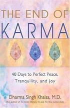 The End of Karma by Singh Khalsa, Dharma - $12.96