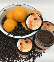 Natural And Organic Coffee Sugar Scrub - Orange You Kissable Exfoliating Scrub image 2