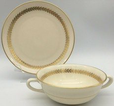 Lenox Imperial P-338 Cream soup bowl & saucer - $35.00