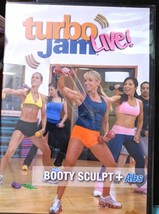 Turbo Jam DVD Live Booty Sculpt and Abs Exercise Fitness Beachbody Chale... - $12.50