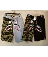 Bape A Bathing Ape Shark Shorts Japan Imported Brand New with Tags Seal - $39.95