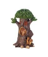 Solar Playful Squirrels Treehouse - $26.99
