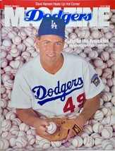 1992 - MLB - Dodgers Magazine - Tom Candiotti Cover - Rare - Out of Print - $9.99