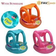 Baby Summer Pool Float and Safety For Swimming Rings Inflatable Flamingo - $17.99