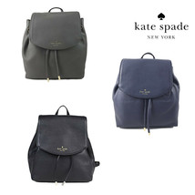 NWT KATE SPADE NEW YORK Small Breezy Backpack Mulberry Black Blue Grey W... - $164.34+