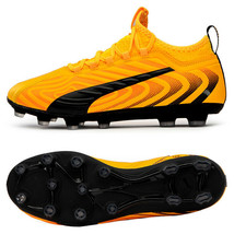 Puma ONE 20.3 HG Football Shoes Soccer Cleats Boots Yellow 10582701 - $89.99