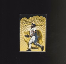 2000 Topps Hands of Gold Limited Edition #HG5 Tony Gwynn San Diego Padres - $1.90