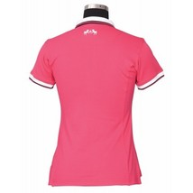 Equine Couture Ladies Kirsten Polo Shirt Hot Pink Size XXXL image 2