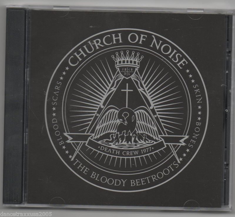 The Bloody Beetroots Church of Noise CD 4 Track Promo Diplo Remix