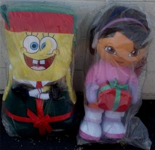 Spongebob Squarepants or  Dora the Explorer Christmas Holiday Greeter - NEW - $36.99