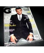GQ Gentlemen's Quarterly Magazine March 2009 JUSTIN TIMBERLAKE Pirate At... - $11.99