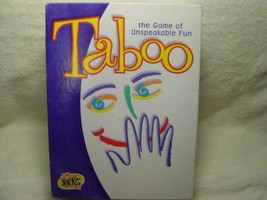 TABOO the Game of Unspeakable Fun 2000 Edition Board Game by Hasbro - Se... - $49.99