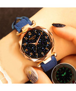 Fashion Women Watches 2019 Best Sell Star Sky Dial Clock Luxury Rose Gol... - $13.00+