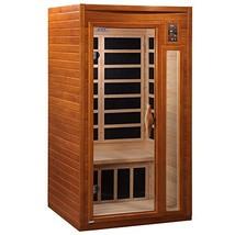 DYNAMIC SAUNAS AMZ-DYN-6106-01 Barcelona 1-2 Person Far Infrared Sauna -... - $1,122.66