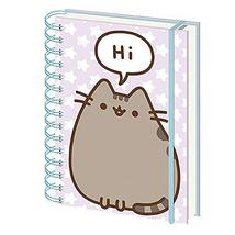 Genuine Pusheen Says Hi A5 Wiro Hardback Journal Notebook Paper Note Pad - $9.38