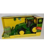 John Deere LP51314 Big Farm Tractor With Mover Round Bale Lights Sounds - £33.88 GBP