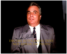 JOHN GOTTI  Authentic Original  SIGNED AUTOGRAPHED PHOTO w/ COA 5285 - $220.00