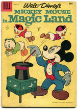 Walt Disney Mickey Mouse in Magic Land 819 Good + 2.0 Dell 1957 Four Color - $3.95