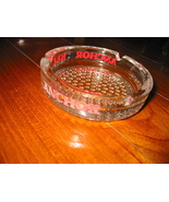 Anchor Beer Clear Glass  Ashtray - $70.00
