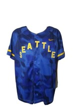 New Nike Seattle Mariners Jersey Game Royal Mens XL MLB Baseball Dri Fit... - $68.60