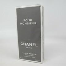 Pour Monsieur By Chanel 75 ml/2.5 Oz Edt Concentree Spray Nib Vintage - $197.99