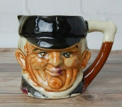 Vintage Glazed Toby The Huntsman Mug Creamer Pitcher Collectible Japan 3... - $12.99